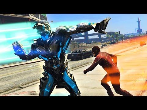 THE FLASH vs SAVITAR, THE GOD OF SPEED!! (GTA 5 Mods, Superhero Battles #9)