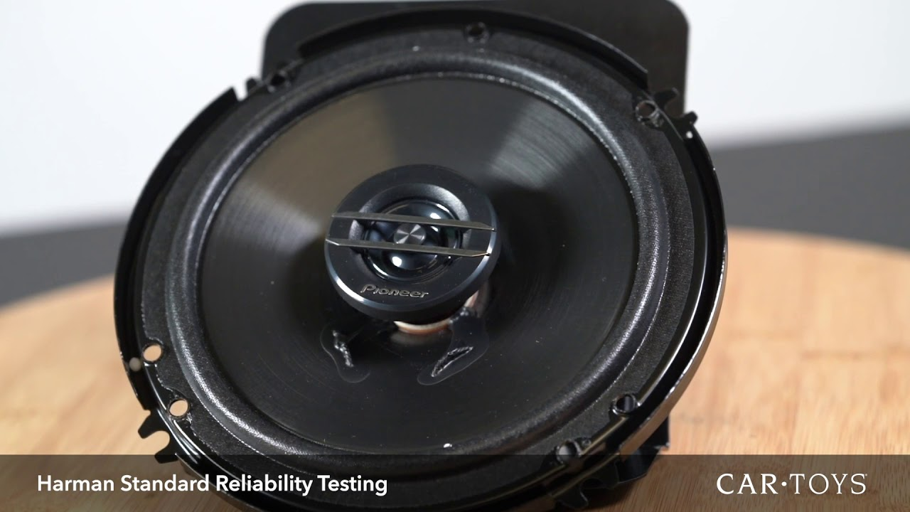 Pioneer TS-G1620F 6 5 Inch Coaxial Speaker System