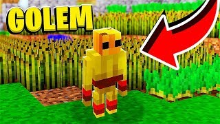 *Diamonds Guns Mod* Mini Golems Fantasy Farmville - Minecraft Modded Minigame | JeromeASF