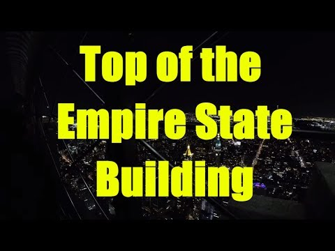 ⁴ᴷ Walkthrough of Empire State Building 2nd Floor, 80th Floor, and 86th Floor Main Deck on GoPro