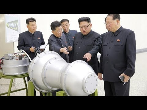 North Korea says it has missile-ready hydrogen bomb State news agency KCNA says Kim Jong-un inspecte