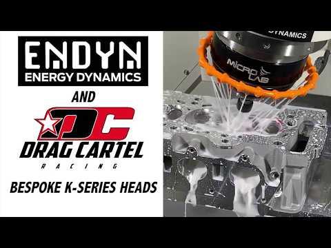K-Series Heads by ENDYN and Drag Cartel - Bespoke Honda Racing Heads