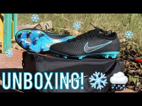 2090cfff3cbc Nike Mercurial Vapor Flyknit Ultra Ice Pack - Unboxing! - YouTube