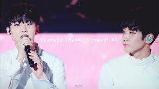 Soonwoo (Hoshi/Wonwoo) #4 Imitating each other + cute moments