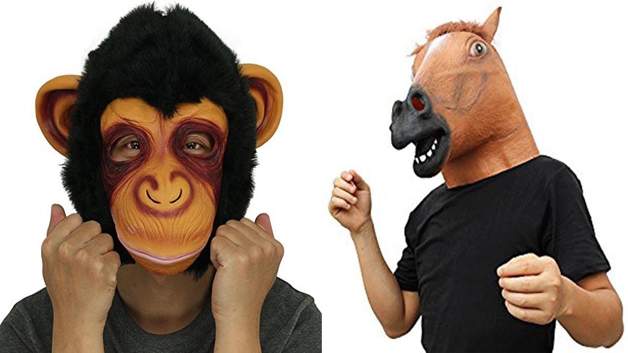 worldu0027s scariest halloween costumes spirit halloween mask show at party city