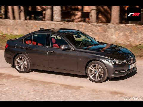bmw serie 3 berlina y touring 320d 2016 prueba youtube. Black Bedroom Furniture Sets. Home Design Ideas