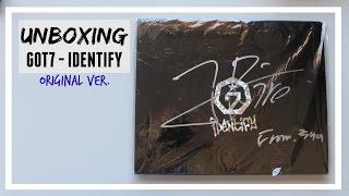 UNBIXING: GOT7 - IDENTIFY original ver. (JR. SIGNATURE) // MLSS
