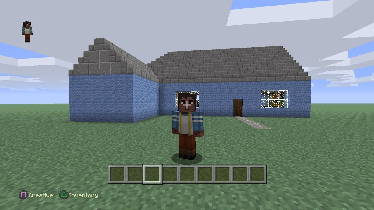 Wool House lets build Minecraft 1 YouTube