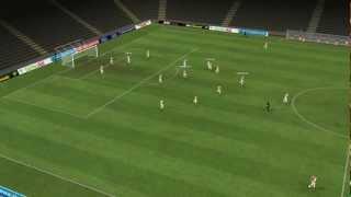 FM 2012 Ajax 9 - 0 FC Groningen - Match Highlights (6.4.2013)