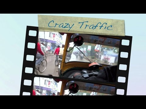 VARANASI - INDIA ★Crazy Traffic ★Main Street ★ Old Town Markets★-