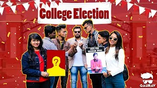 Collage Election || Collage Comedy Video - Kaminey Frendzz