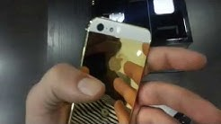 Iphone 5 24K Gold plated edition