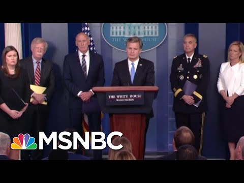 White House Warns About Russia Then President Donald Trump Says It's A Hoax! | The Last Word | MSNBC