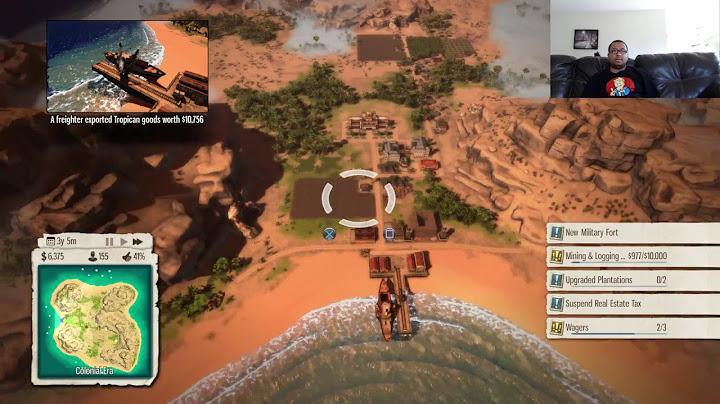 tropico 5 bao bao campaign episode 1 lets play