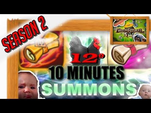 Summoners War BR: 12° 10 MINUTES SUMMONS!!