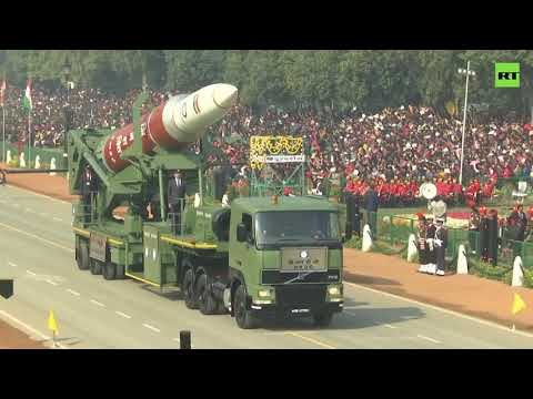 India celebrates Republic Day with a grand military parade
