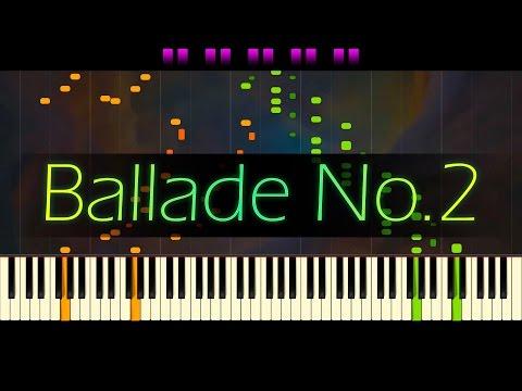 Ballade No. 2 in F major, Op. 38 // CHOPIN