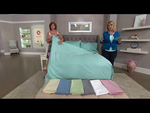 Cotton 700tc Wrinkle Defense Sheet Set, Northern Nights Bedding