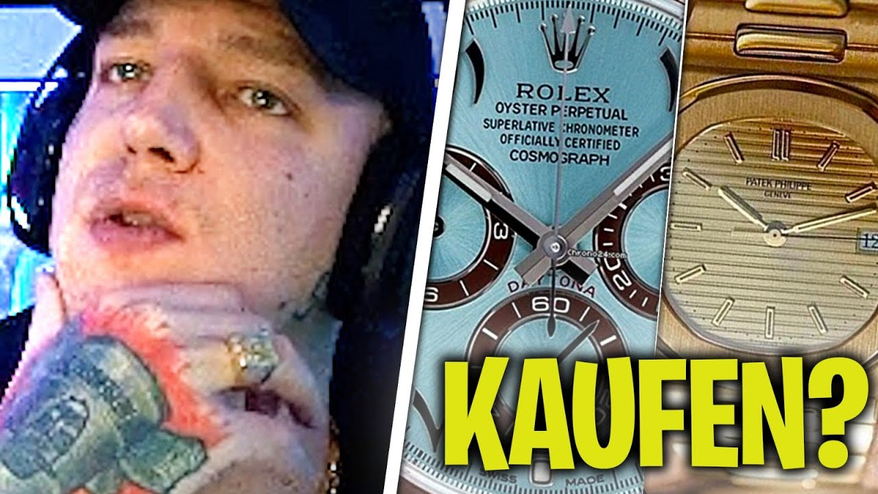 100.000€ ROLEX KAUFEN?😱 in Luxus Uhren Investieren? MontanaBlack Stream Highlights
