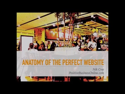 Anatomy Of The Perfect Website Nik Cree
