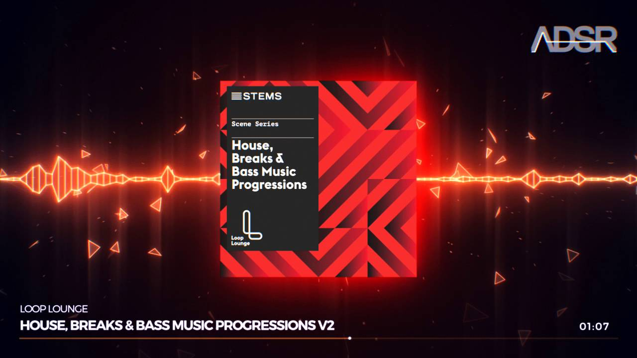 House, Breaks & Bass Music Progressions - STEMS format