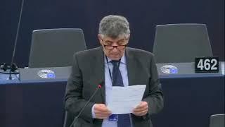 Intervento in aula di Pietro Bartolo sulla conclusione dell'accordo di libero scambio UE-Vietnam