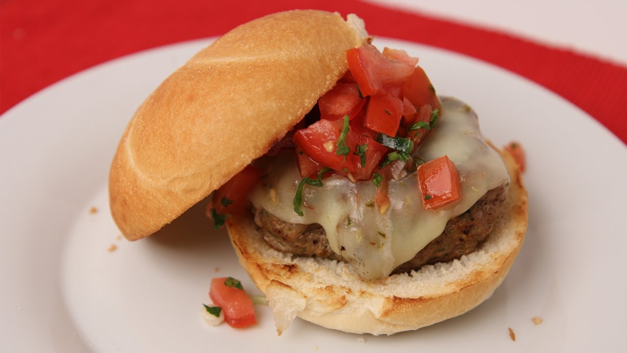 Tex Mex Burger Recipe - Laura Vitale - Laura in the Kitchen Episode 435