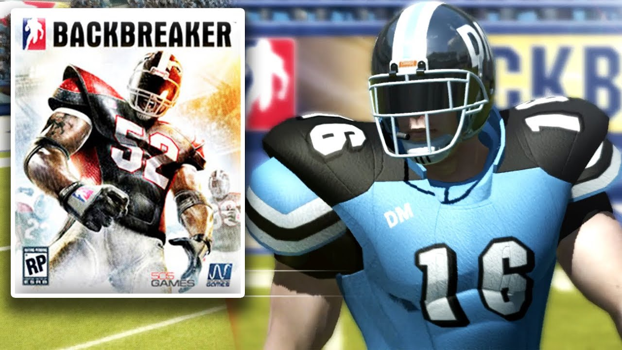 Backbreaker is a very confusing football game