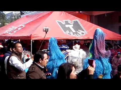 Inicio de carnaval Tenango de doria Hgo. 2016