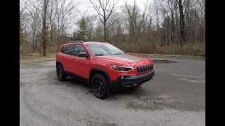 2019 Jeep Cherokee Trailhawk 4X4|Walk Around Video|In Depth Review