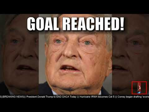 BREAKING NEWS: White House Petition to Declare George Soros a Terrorist Has Reached Its Goal!!