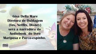 Novidade: Audiobook do meu livro com uma das maiores dubladoras do Brasil!