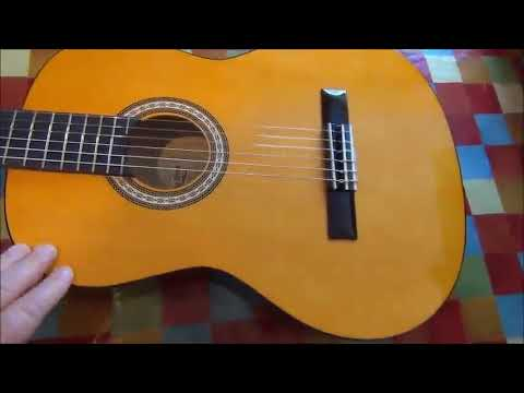 a2e5d7b4ea Classical Acoustic Guitar, Strong Wind 39' Inch 6 Nylon Strings Guitar  Beginner Kit