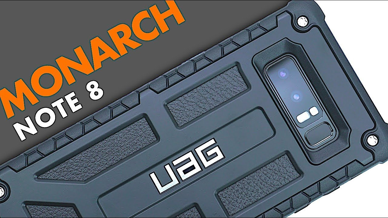 huge discount bcc42 c3de5 UAG Monarch Case for Note 8 | Review