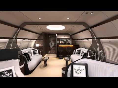 HAECO XIAMEN VIP Cabin Completion Centre ACJ Forum2013