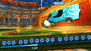 One of Woofless's most viewed videos: So a Noob Rocket League YouTuber challenges me to a 1v1...
