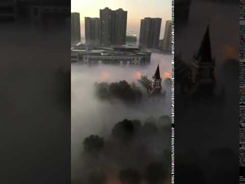 """Chongqing China: people called it"""" Foggy city"""",""""Bridge city"""",""""Small Hong Kong"""""""