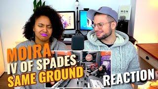 Moira De La Torre & IV of Spades - Same Ground | LIVE on Wish 107.5 Bus | REACTION
