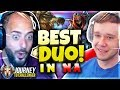 Probably The BEST Duo You'll EVER See!!!! ft. Solorenektononly - Journey To Challenger   LoL