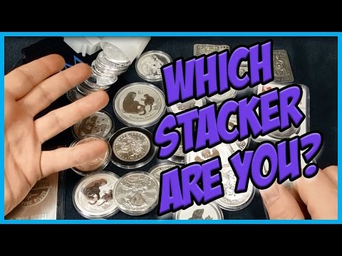 The Different Types Of Silver & Gold Stackers - Where do you fall?!