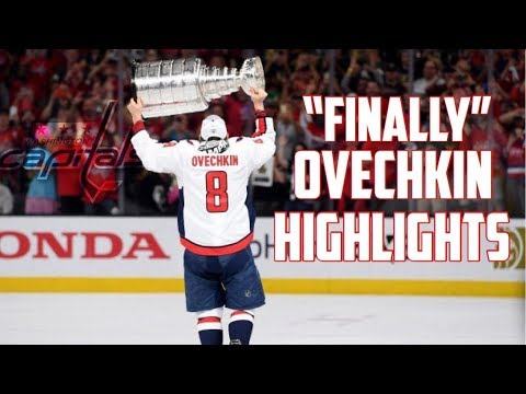 Alex Ovechkin Stanley Cup Highlights ᴴᴰ || 'Finally' (2018)