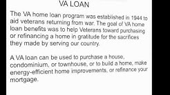 FHA & VA  - Real Estate Exam