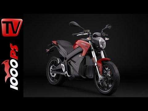 Zero Motorcycles Modelle 2016 | Reichweite, Verbrauch, Details