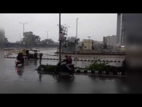 Monsoon Begins : Heavy rain with thunderstorms here in Amritsar..(Awesome Weather)..