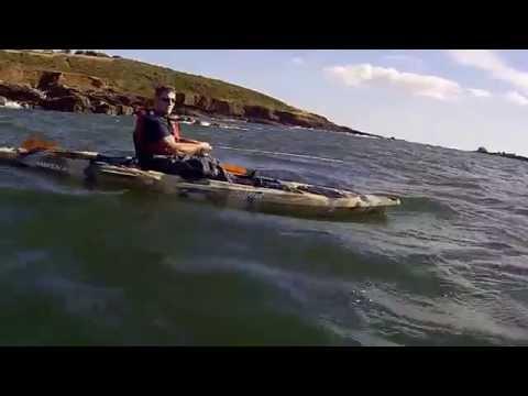 Feelfree Moken 12.5 Fishing Kayak In Plymouth Sound