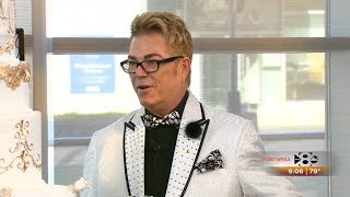 Donnie Brown Wearing Silk Threads on Royal Wedding Trends