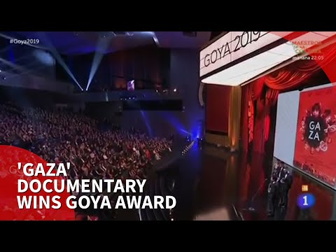 'Gaza' documentary wins 33rd Spain Goya Award