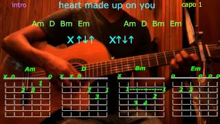 heart made up on you r5 guitar chords