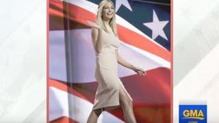 Ivanka Trump Dress Worn at Republican Convention