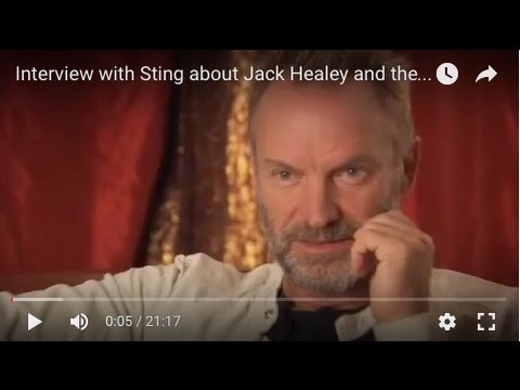 Interview with Sting about Jack Healey and the Human Rights Action Center
